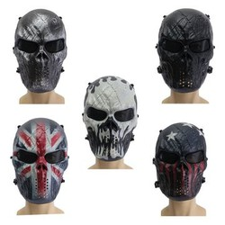 Field Warrior Airsoft Paintball Game Skeleton Mask Skull