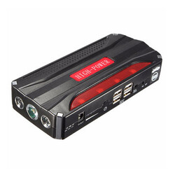 Rechargeable Battery 12V Car Jump Starter Power Bank 4USB Multi-function