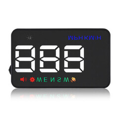 Mode 3.5 Inch Car Satellite A5 GEYIREN HUD Wind Shield Projector Overspeed GPS Speedometer