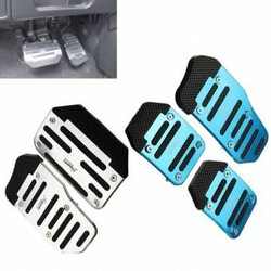 Aluminum Car Non Slip Brake Plate Cars Automatic Manual Accelerator Pedal Foot