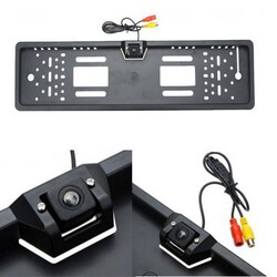 Waterproof Europe Back Car Parking License Plate Frame Car Rear View Camera License
