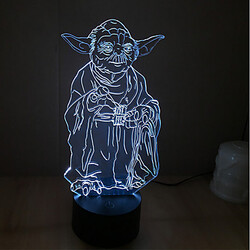 3d Novelty Lighting Colorful 100 Led Night Light Wars Decoration Atmosphere Lamp Christmas Light