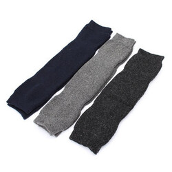 Leg Mens Knee Socks Unisex Women Warmers Wool Pad High Thigh
