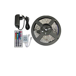 Led Strip Light Rgb Smd Supply 5m Remote Controller And