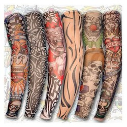 Arm Halloween Party Leg Cycling Tattoo Sleeves Sun Protection