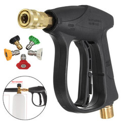 Bicycles 3000PSI Nozzles High Pressure Washer Gun Car Motocycle