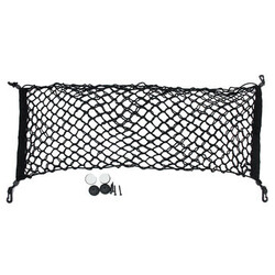 Storage Rear Cargo Net Flexible Nylon car TRUNK Organizer