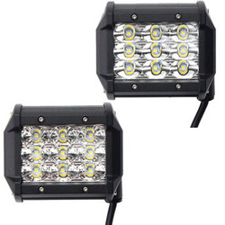LED 54W Work Light Car Offroad Truck 4 Inch Flood Beam DC 10-30V