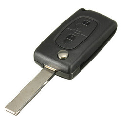 Remote Key ID46 407 Peugeot 433MHZ 207 307 Transponder Chip 2 Buttons