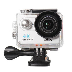 Auto with Remote Control Car DVR 170 Degree iMars Record 4K Action Camera H9 2 Inch Lens