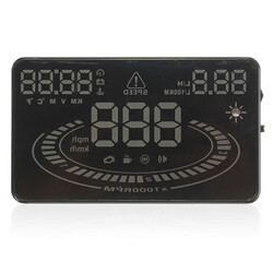 E300 Speed 2D OBD2 5.5 inch Car HUD Warning System Head Up Display Vision