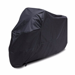 Black Sunscreen Motorcycle Protective Rainproof Cover Scooter Dustproof