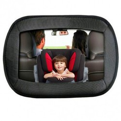 Child Care Wide Baby Car Seat Facing Large Rear View Safety Mirror