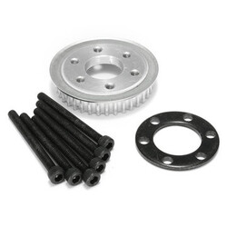 Motor Mount DIY Tooth Parts Pulley Kit 80mm Wheels