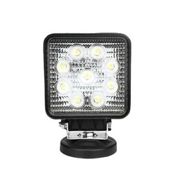 6000K IP67 Dome Vehicle SUV Lamp For Car OVOVS 27W LED Work Light Spotlight Floodlight