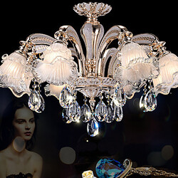 Crystal Simple Modern Chandeliers Flowers Pendant Lights Lights European Style