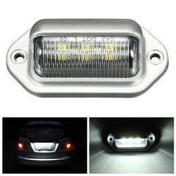 Car Truck Trailer LED License Plate Light Step Courtesy Lamp Interior