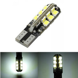 24SMD LED T10 Instrument Light Bulb Lamp W5W Side White LED Car