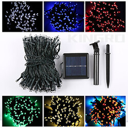 22m Led Solar Christmas Lamp String Light Waterproof