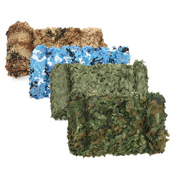 Camouflage Net For Car Cover Military CS Woodlands Camping Camo Hunting Shooting Hide