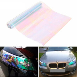 Headlight Foglight Transparent Chameleon Film Sticker Tint Tail Lamp
