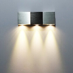 Led Electroplated 3w Ambient Light Wall