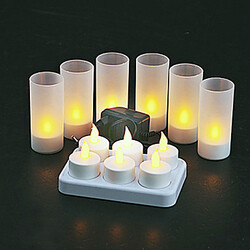 Candles Warm Yellow Light Led Flameless
