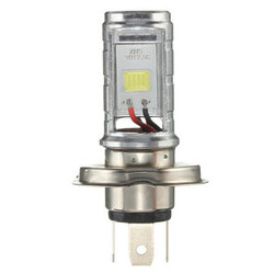 Beam H4 Motorcycle Light Bulb Lamp Hi Lo Headlight Front 6500K LED