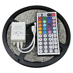 Rgb Smd Led Strip Light 44key Waterproof 5m 300x5050