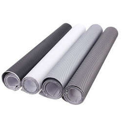 Sheet Roll Car Vehicle Sticker Film 3D Carbon Fiber Vinyl Wrap