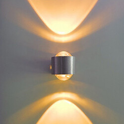Contemporary Led Integrated Metal Modern Bulb Included Led Flush Mount Wall Lights