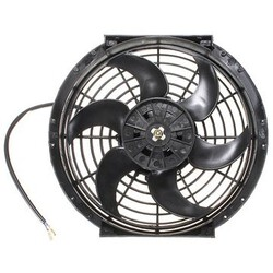 Electric 12V slim inches Push Pull Reversible Radiator Cooling Fan