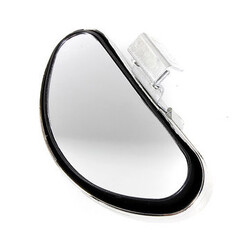 Universal Auto Silver Side Safety Wide Angle Blind Spot Mirror