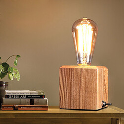 Nordic 100 Room Table Lamp Wooden Art