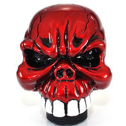 Chrome Skull Universal Car Gear Stick Shift Knob Lever