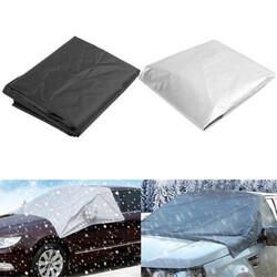Snow Car Wind Shield with Hook Protector Sunshade Waterproof