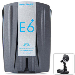 Car Auto Alarm Distance Speed Camera Radar Detector 360 Degree E6 Support