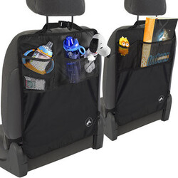 Kid Kick Clean Universal Car Back Seat Protector Cover Storage Bag Keep Mat