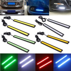 Vehicle DRL 12V LED Driving Daytime Running Light COB