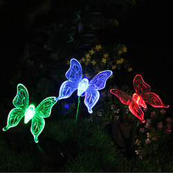 Color-changing Light Butterfly Garden Stake Solar