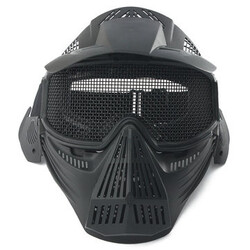 Metal PRO Goggles with Safety Full Face Mask Tactical Airsoft Protection