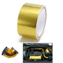 Heat Reflective Gold Protection Wrap Tape Degree Cool Performance