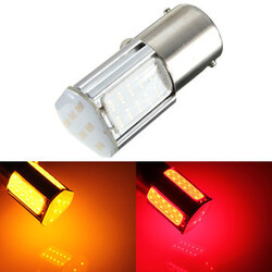 BA15S COB Rear Light Car Bulb Red Yellow LED Turn