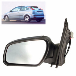 Side Electric Wing Mirror Glass Door Ford Focus Mk2