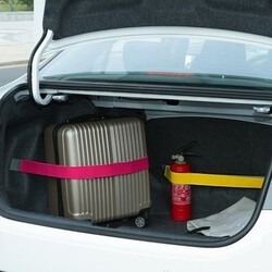 Car Color Elastic Organizer Sundry Strap Belt Fixed Trunk