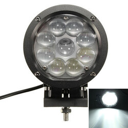Working Light 7 Inch Beam Flood Spot SUV Boat LED 45W Off-road Jeep ATV