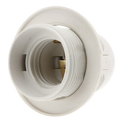 Holder Screw 100 White E27 Socket Base Lamp