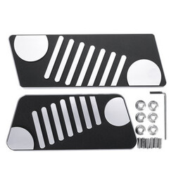 Aluminum Alloy Brake Pedal Accelerator 07-16 Jeep Wrangler Modification JK