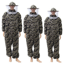 Pants Beekeeping Dress Bee Protecting Camouflage Suit Veil Protective