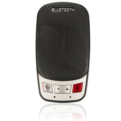 Portable Wireless Car Kit slim Speaker Phone Handsfree Bluetooth Sun Visor Clip